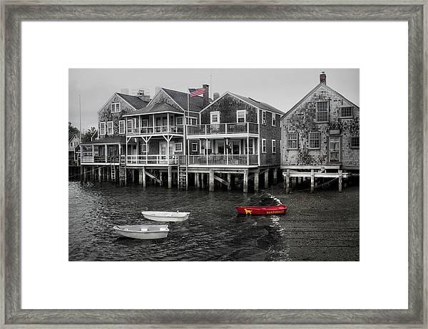 Nantucket In Bw Series 6139 Framed Print