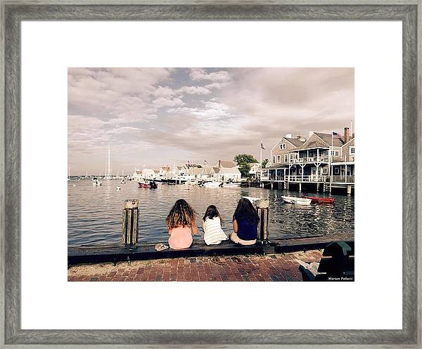 Nantucket Island Framed Print