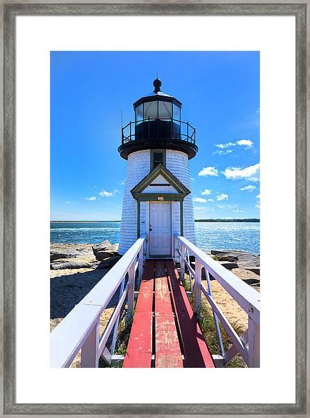 Nantucket Lighthouse - Y3 Framed Print