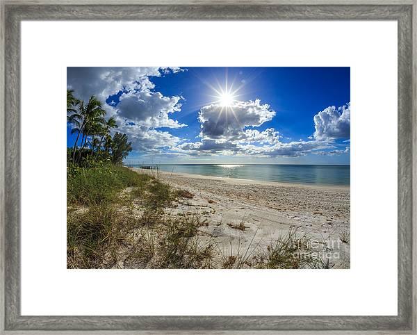 Naples, Florida Beach Framed Print