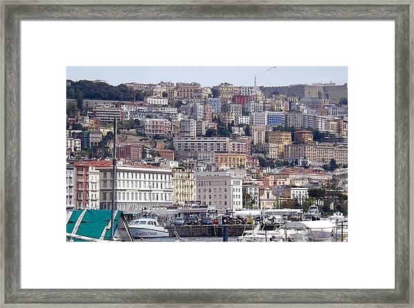 Naples In The Spring Framed Print