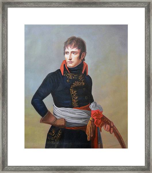 Napoleon Bonaparte As First Consul Framed Print