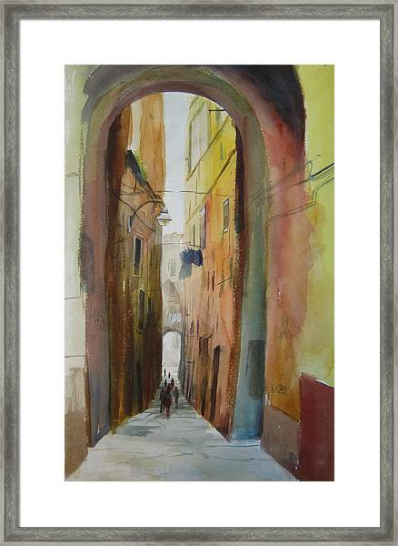 Napoli Framed Print