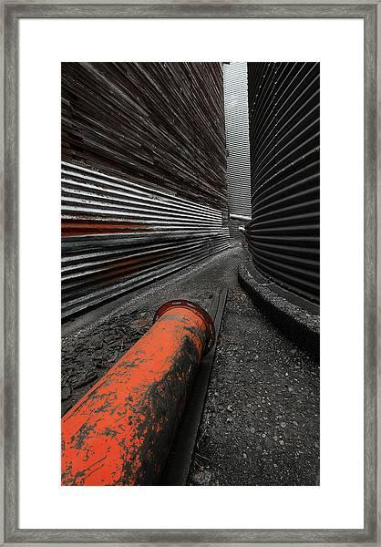 Narrow Passage Framed Print