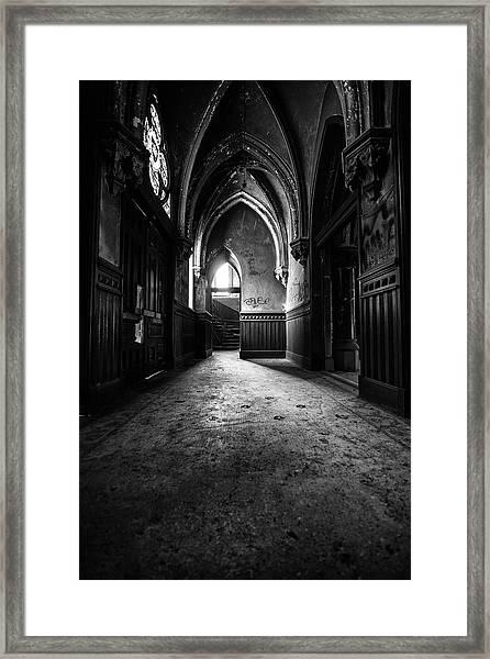 Narthex Framed Print