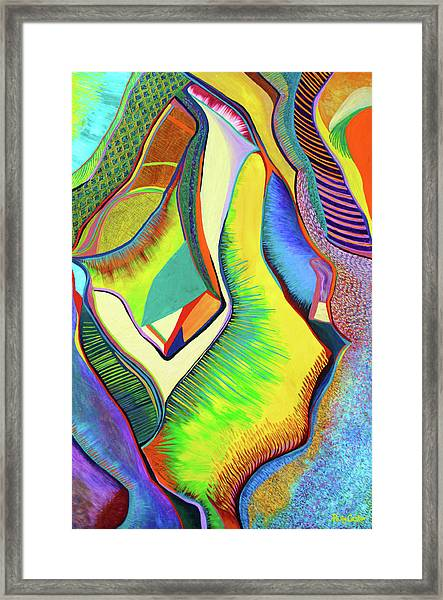 Nascent Bud Framed Print