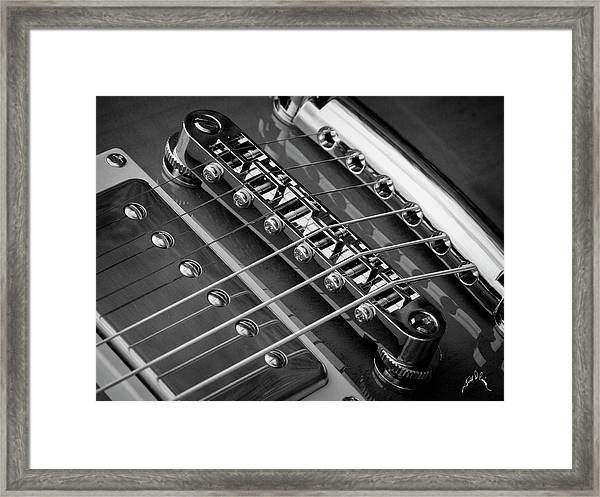 Framed Print featuring the photograph Nashville Bridges by Williams-Cairns Photography LLC