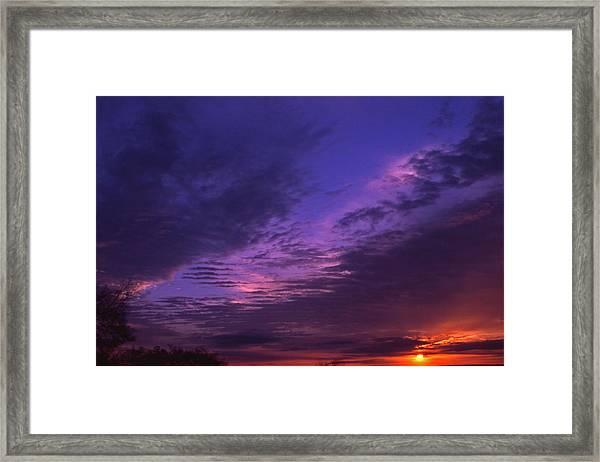 Nashville Sunset Framed Print by Randy Muir