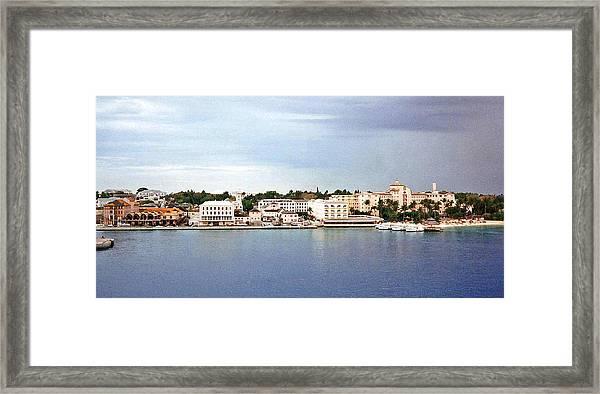 Nassau Bahamas 1995 Framed Print