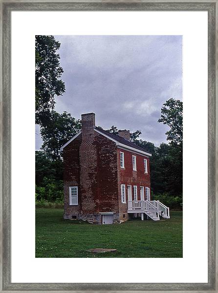 Natchez Trace Gordon House - 3 Framed Print by Randy Muir