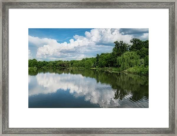Nathanael Greene Park Framed Print