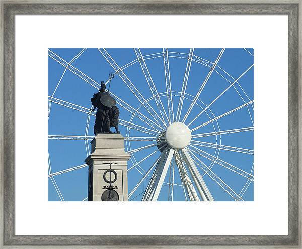 National Armada Memorial Framed Print