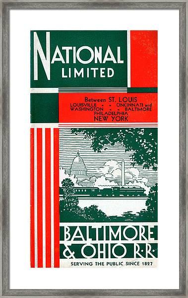 National Limited Framed Print