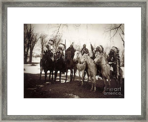 Native American Chiefs Framed Print