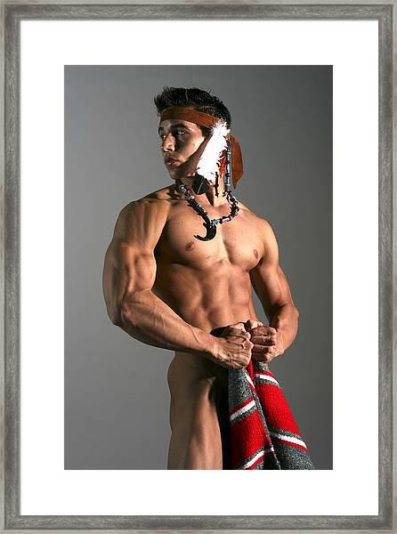 Native American I Framed Print by Dan Nelson