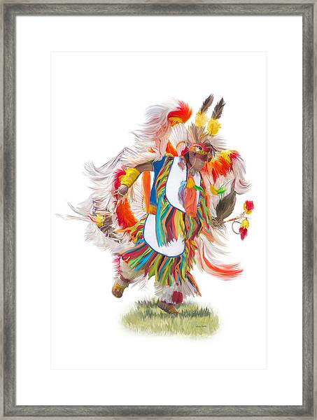 Native Rhythm Framed Print
