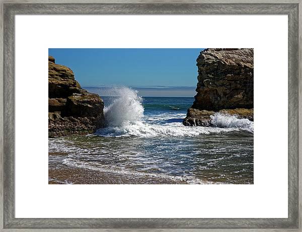 Natural Bridges State Park Framed Print