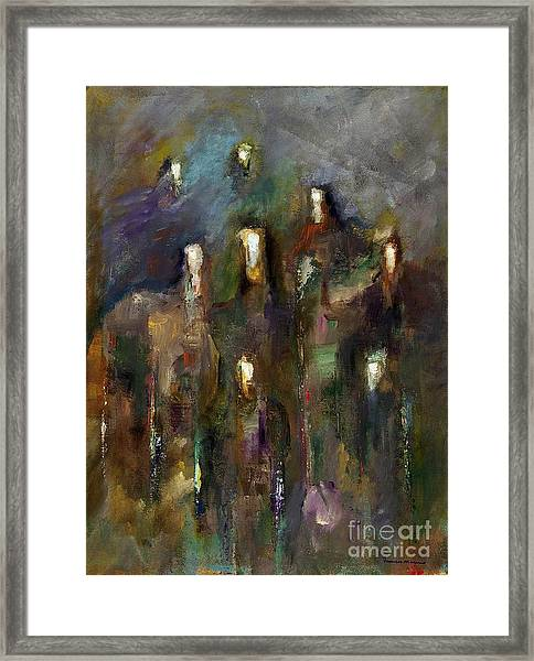 Natural Instincts Framed Print