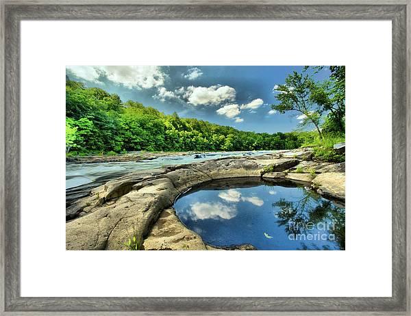 Natural Swimming Pool Framed Print