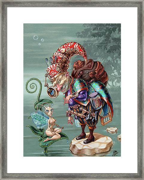 Naturalist Framed Print