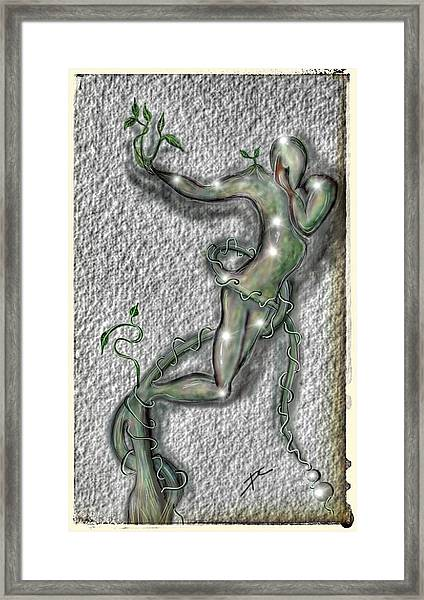 Nature And Man Framed Print