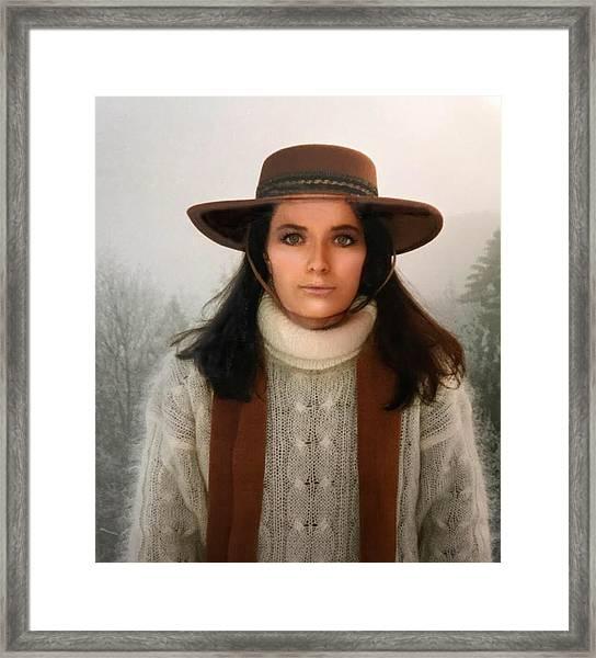 Nature Harmony Self Portrait  Framed Print