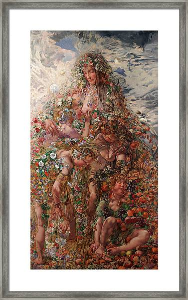 Nature Or Abundance Framed Print
