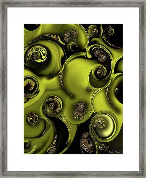 Nature Vs Work Framed Print