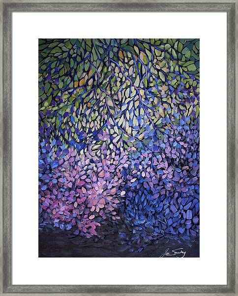 Natures Stain Glass Symphony Framed Print
