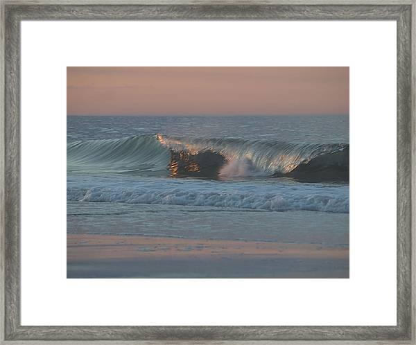 Natures Wave Framed Print