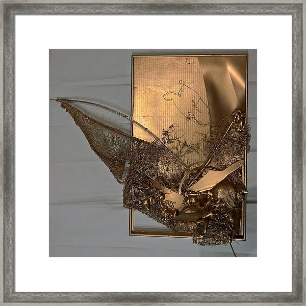 Nautical Abstract #11518 Framed Print