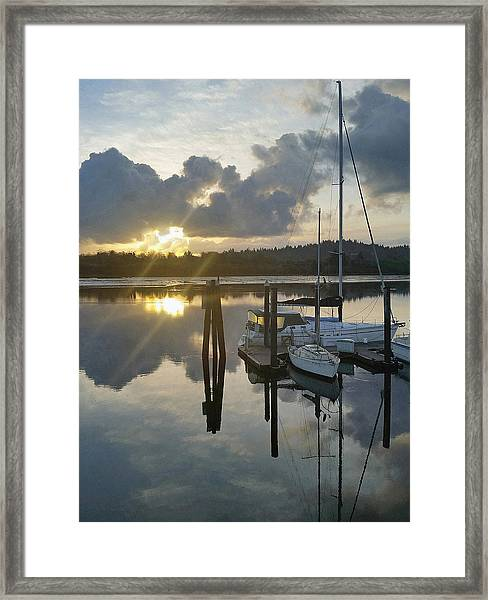 Nautical Mood Framed Print