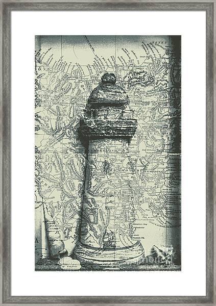 Nautical Way Framed Print