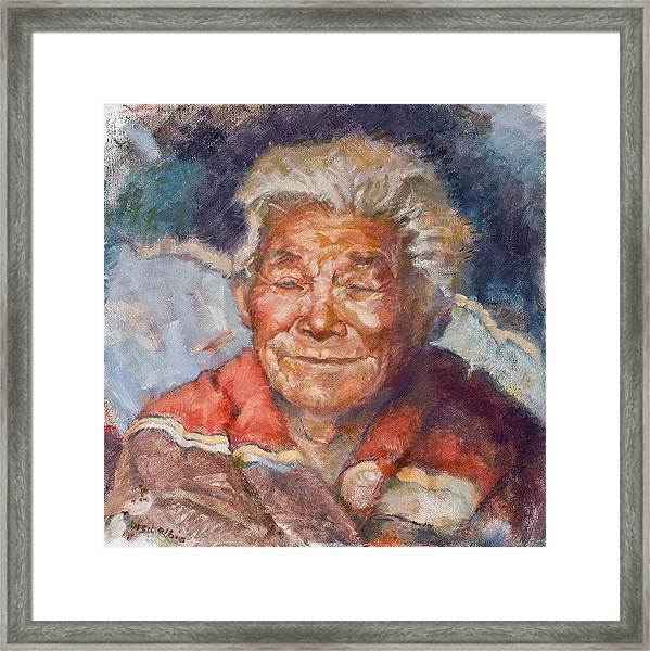 Navaho Wisdom Framed Print