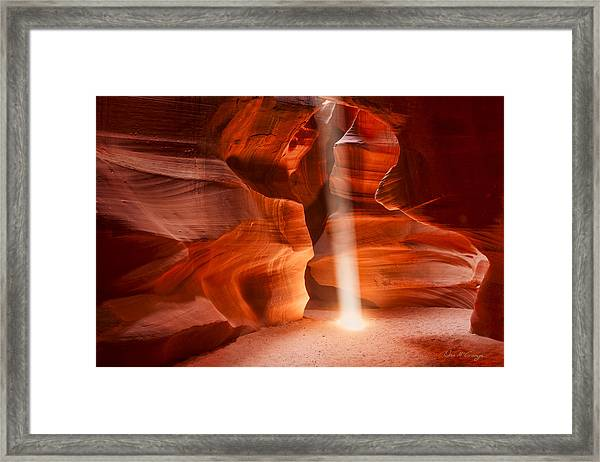 Navajo Light Framed Print