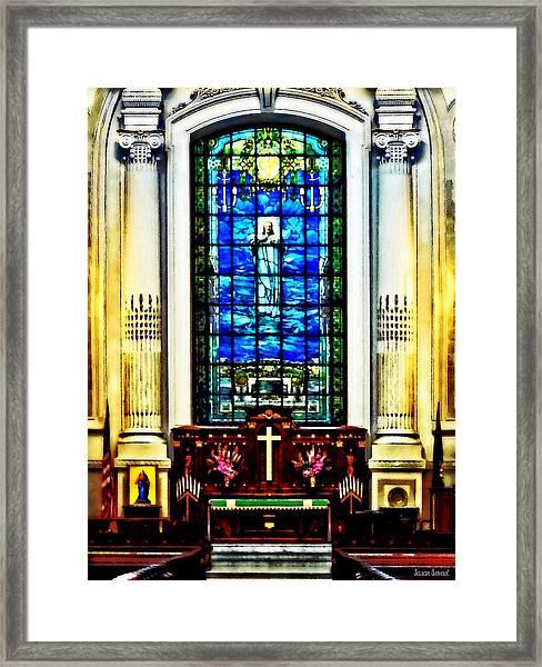 Naval Academy Chapel Framed Print