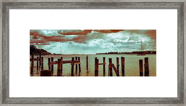 Naval Academy Sailing School Framed Print