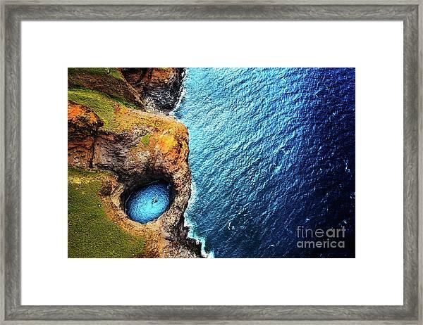 Napali Coast Framed Print