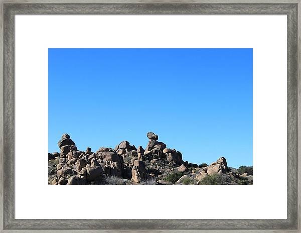 Framed Print featuring the photograph Near Wickenburg, Az by Antonio Romero