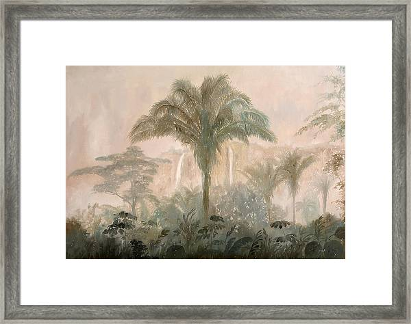 Nebbia Nella Jungla Framed Print