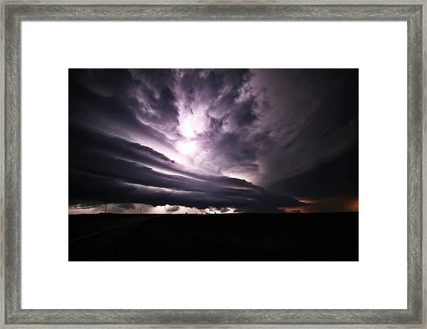 Nebraska Beast Framed Print