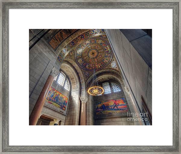 Nebraska State Capitol Framed Print