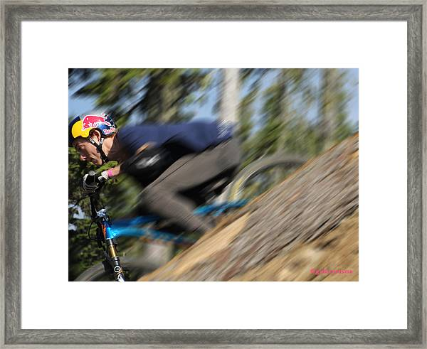 Need For Speed Framed Print