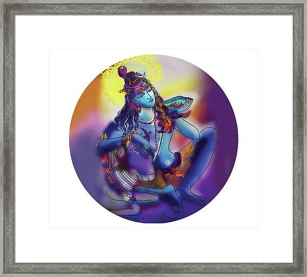 Neelakanth Shiva  Framed Print