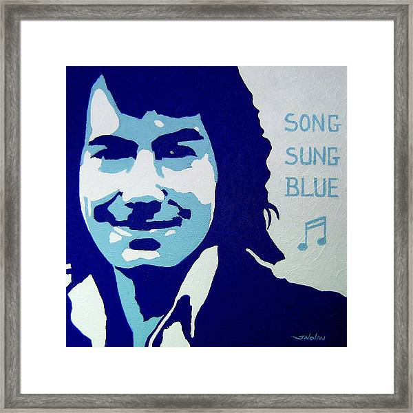Neil Diamond Framed Print by John  Nolan
