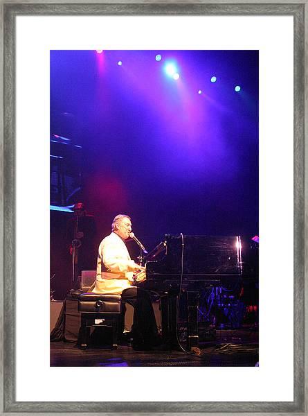Neil Sedaka 12 Framed Print by Jez C Self