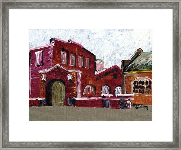 Nelson Framed Print