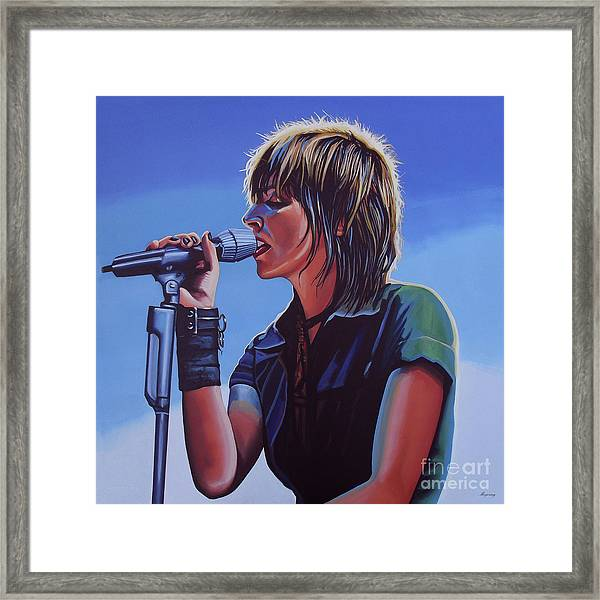 Nena Painting Framed Print