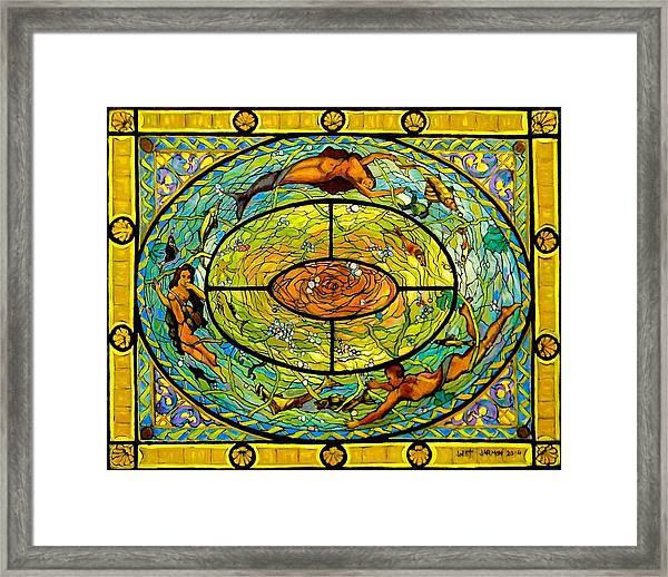 Neptune's Daughter Framed Print