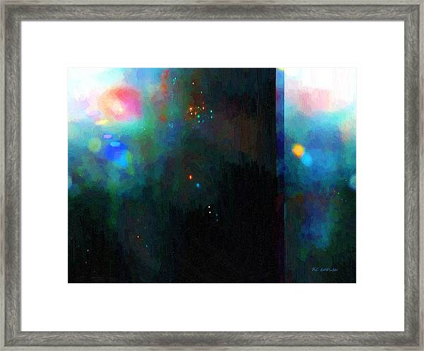 Neptune's Monolith Framed Print